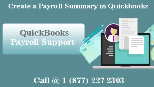 Call QuickBooks Payroll Support and Know How to Create a